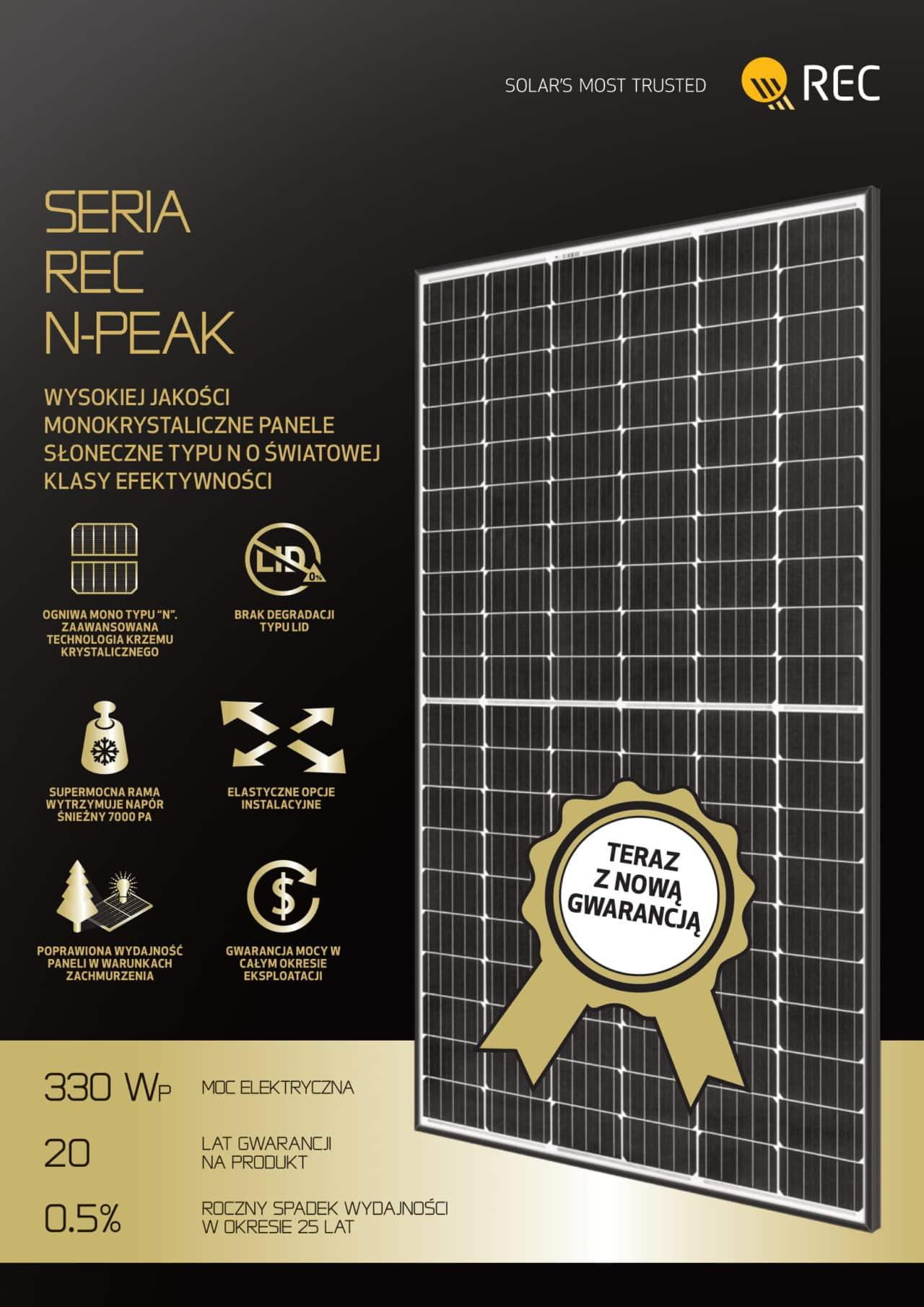 REC N-PEAK 325 W 1