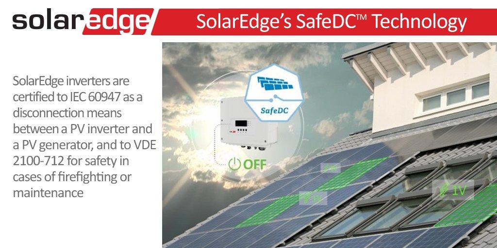AFCI Solaredge, SafeDC Solaredge - bezpieczeństwo instalacji fotowoltaicznej nr. 1 3